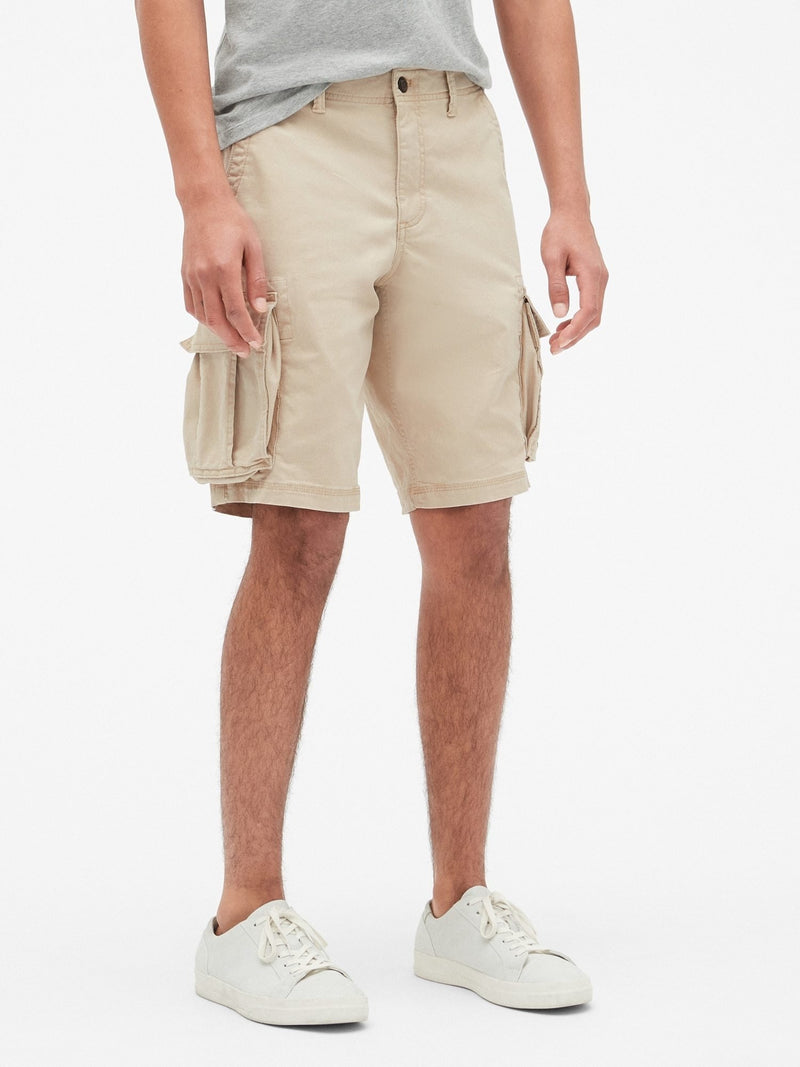 Shorts-Cargo New-Sand Khaki
