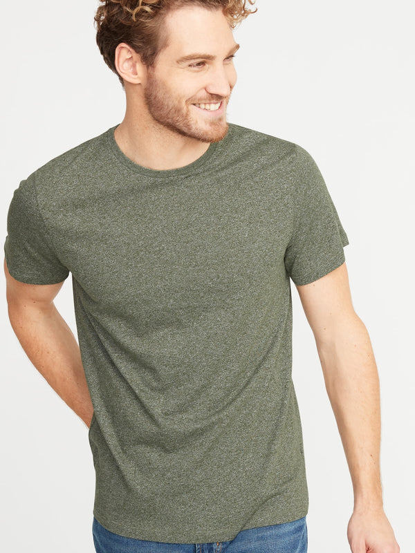 ON Camiseta Soft-Washed Crew-Neck Tee for Men - Oliver Olive