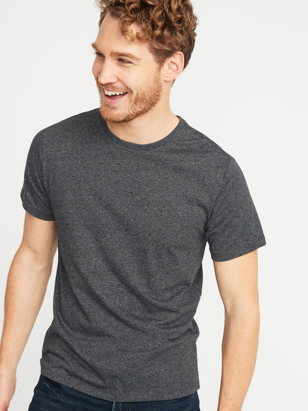 ON Camiseta Soft-Washed Crew-Neck Tee for Men - Dark Gris