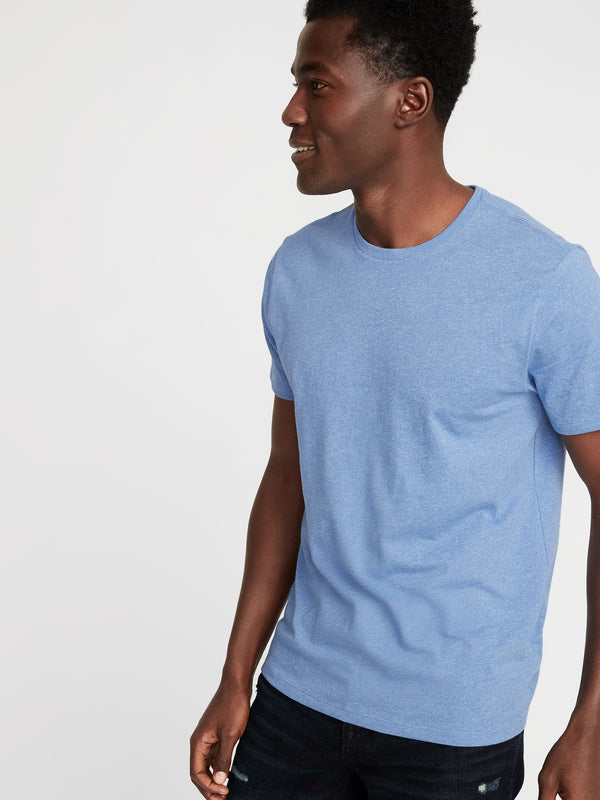 ON Camiseta Soft-Washed Crew-Neck Tee for Men - Big Navy