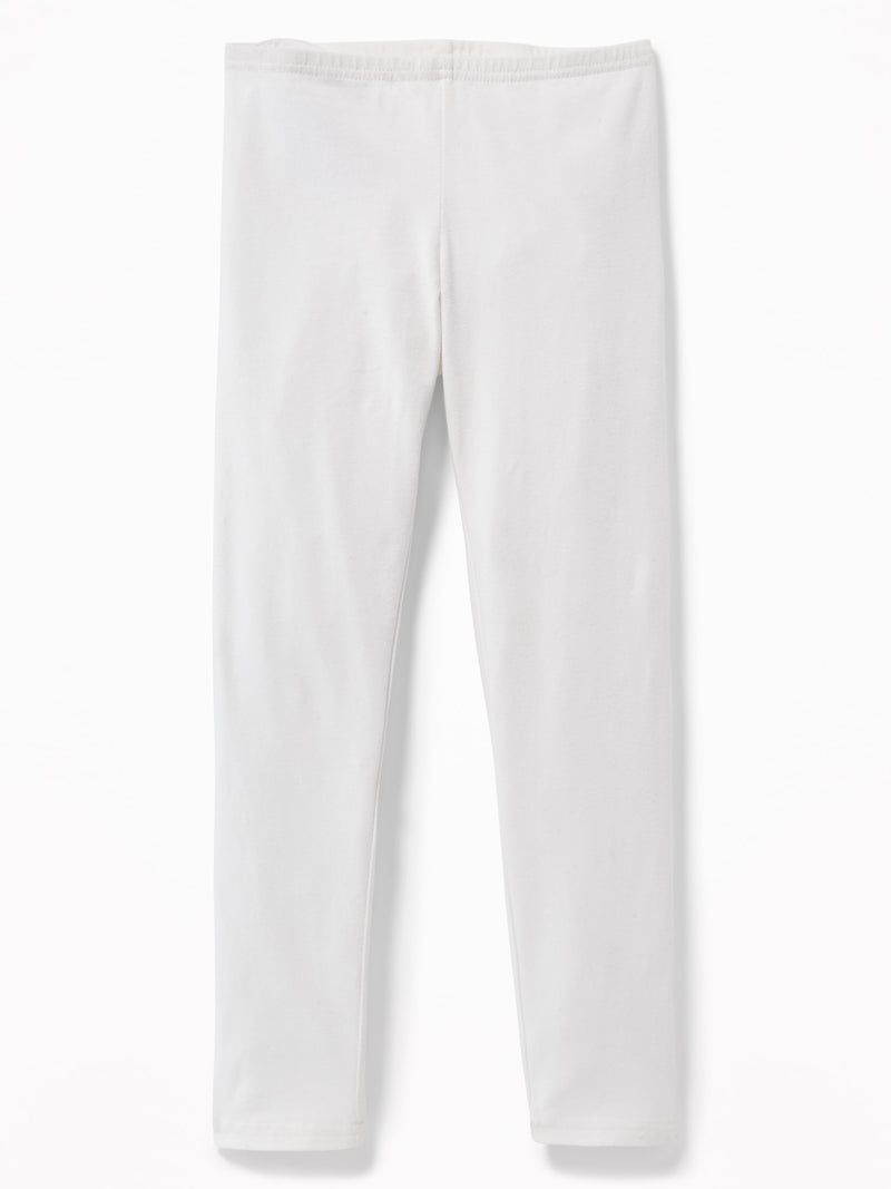 Leggings-Basic Crop Legging-Bright White