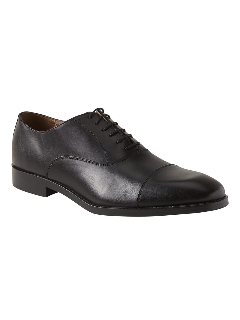Zapato Non Seas-Kevin Cap Toe Oxford-Black