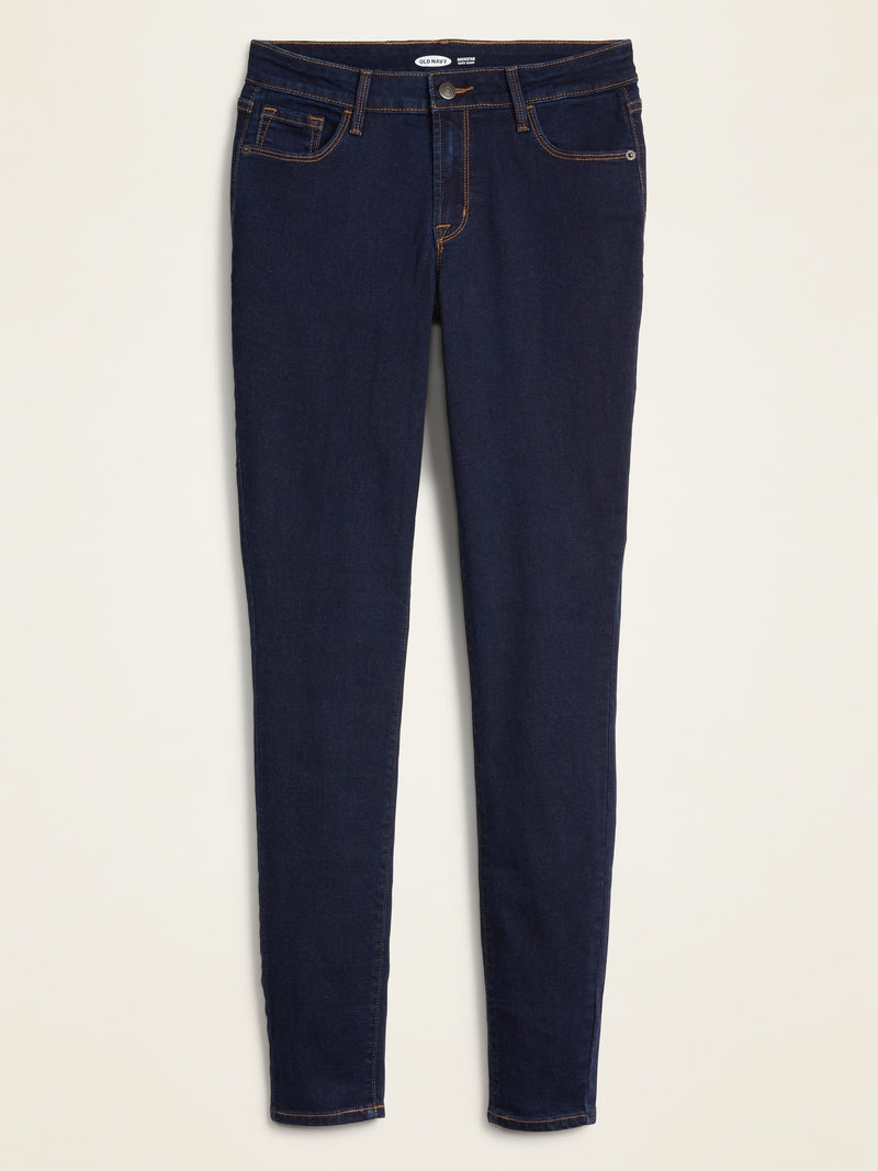 ON Mid-Rise Rockstar Super Skinny Jeans for Women - Rinse