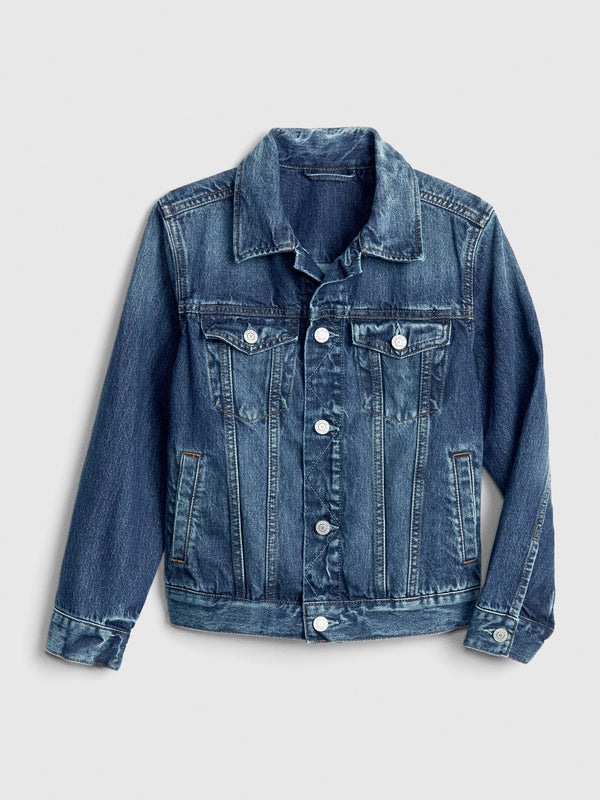 Jacket Denim-Medium Wash