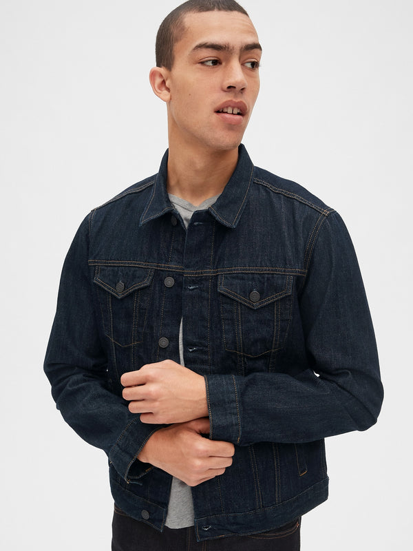 Gap Icon Denim Jacket -Rinse