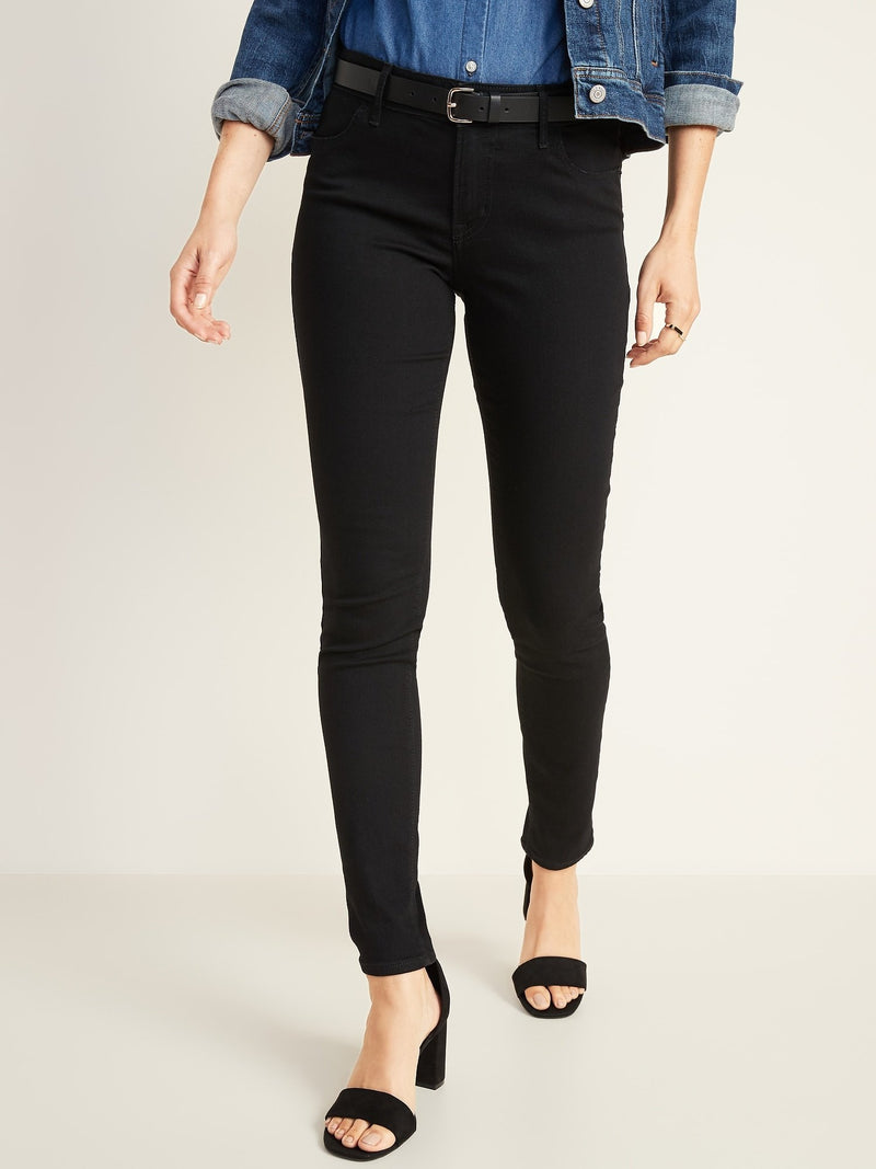 Denim Wow Mr Super Skinny Black-BLACK JACK (Mid Rise)