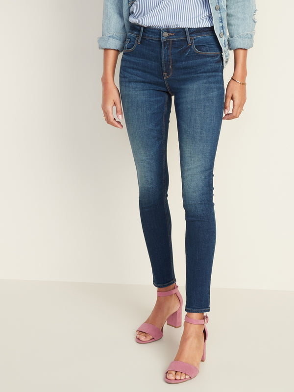 ON Mid-Rise Rockstar Super Skinny Jeans for Women - Campbell