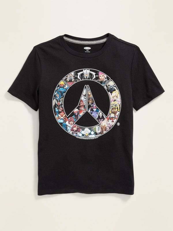 ON Overwatch&#174 Characters Logo Tee For Boys - Panther