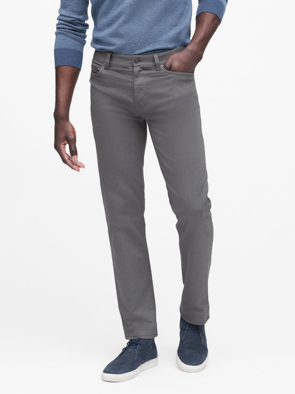 BR Slim Heathered Traveler Pant - Smoke Grey
