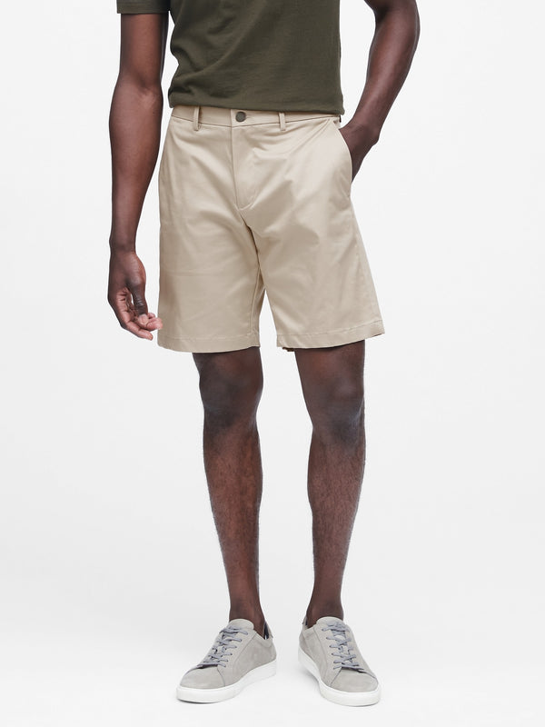 "BR 9"" Slim Core Temp Short - Camp Khaki"