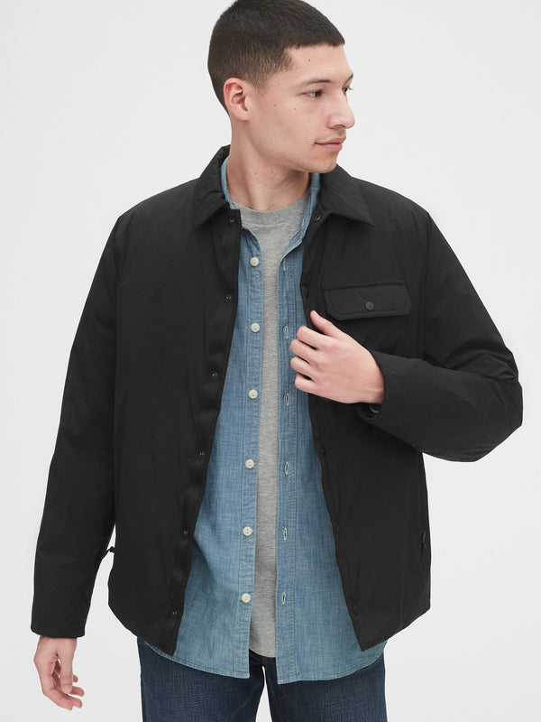 Gap Lightweight Performance Jacket -True Black