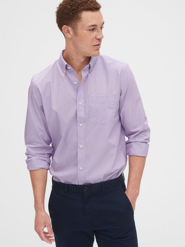 Camisa Manga Larga-S Performance Cotton -MEADOW VIOLET