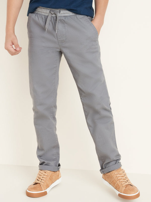 Pantalón Knit Waist Relaxed Slim Pant-Greys Of Our Lives