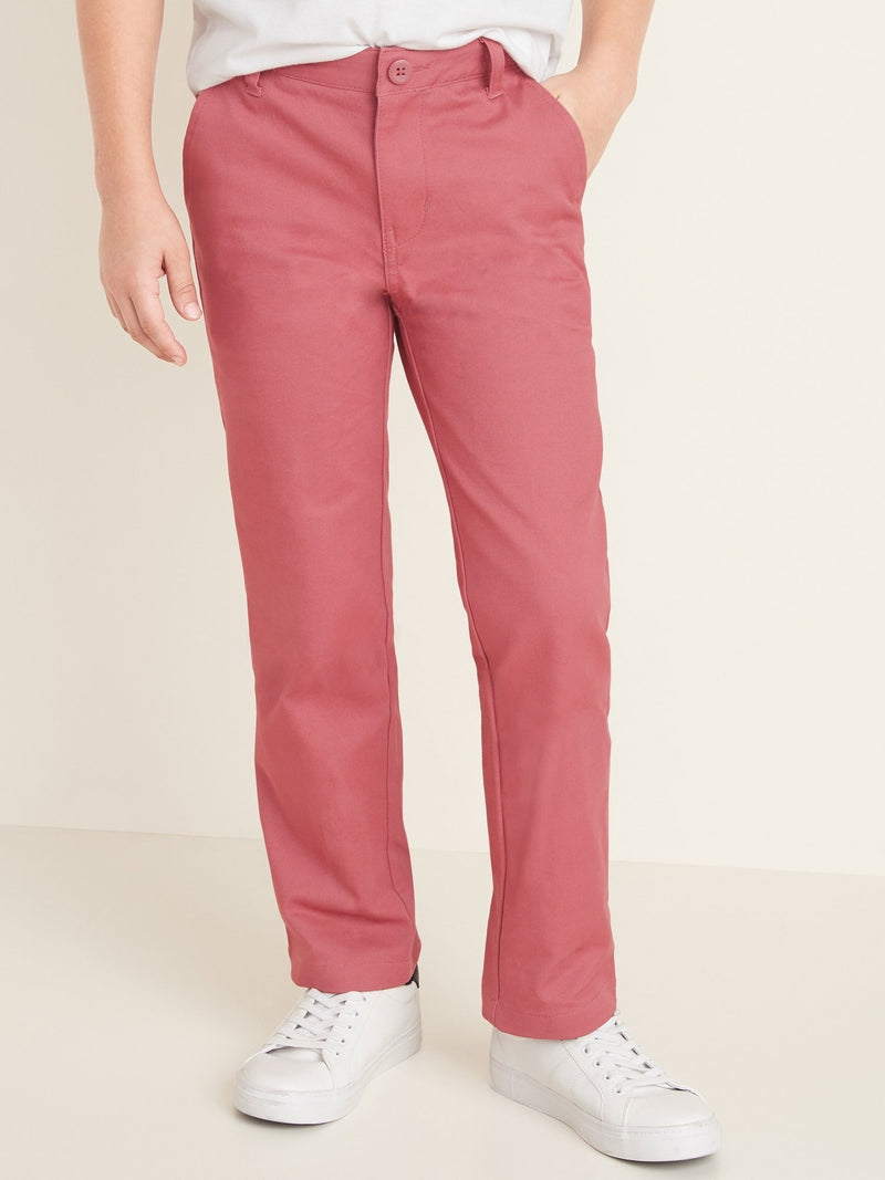 Pantalón Straight Color Chino -Gooseberry Red