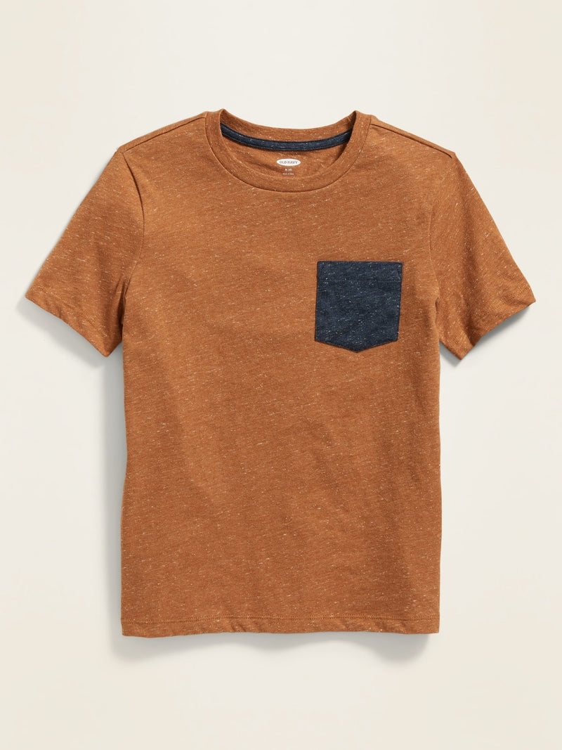 Camiseta Manga Corta Softest-Roasted Pumpkin