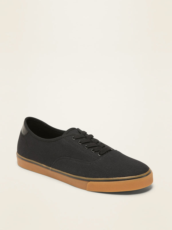 ON Lace-Up Sneakers For Men - Black Jack
