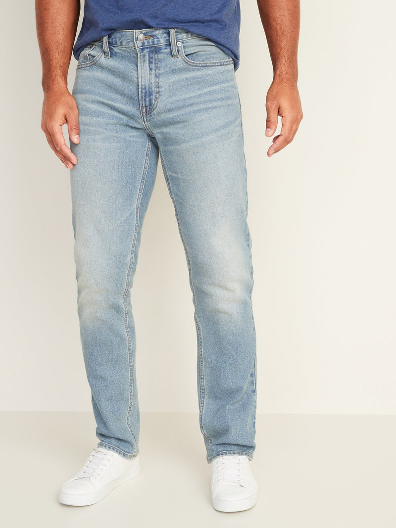 Pantalón Denim-Straight Light-LIGHT WASH