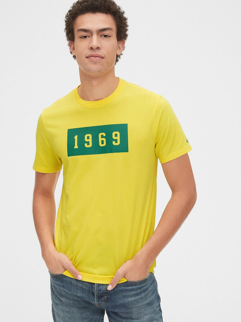 Camiseta Novelty-1969 Box T-BRIGHT LEMON MERINGUE