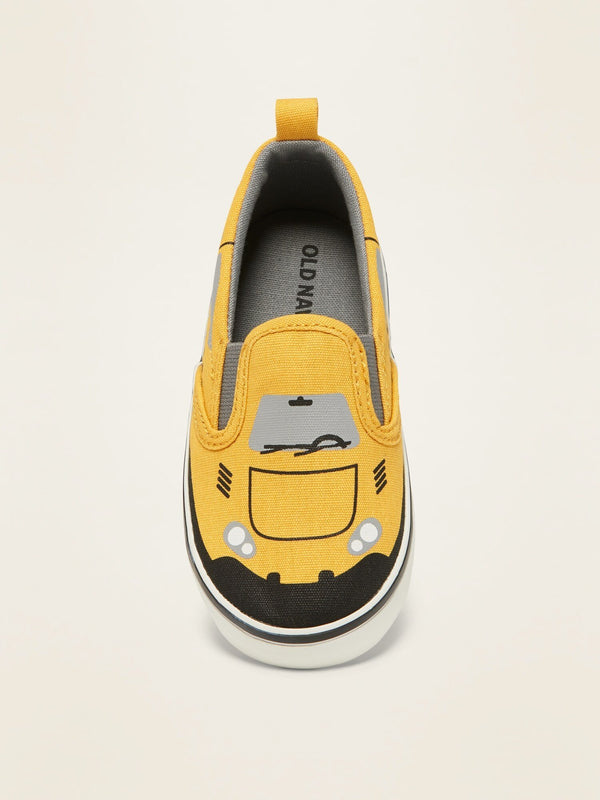 Zapato Transport Slip On-Yellow