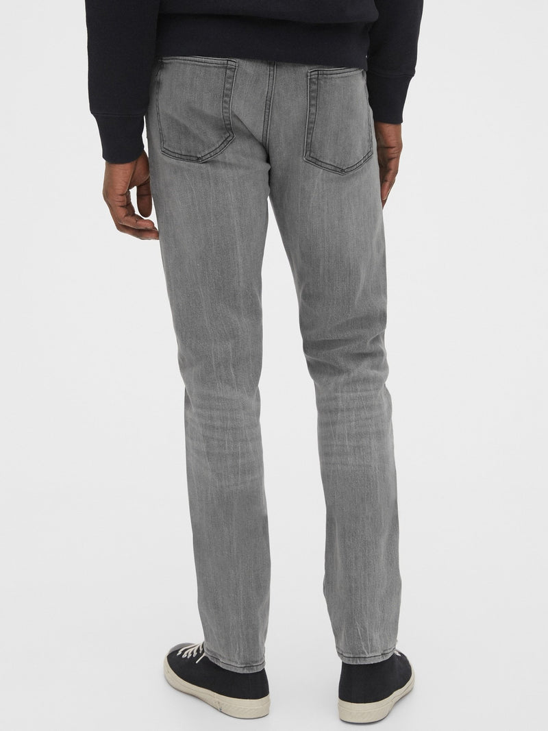 Denim 5 Pkt-Slim -GREY STORM