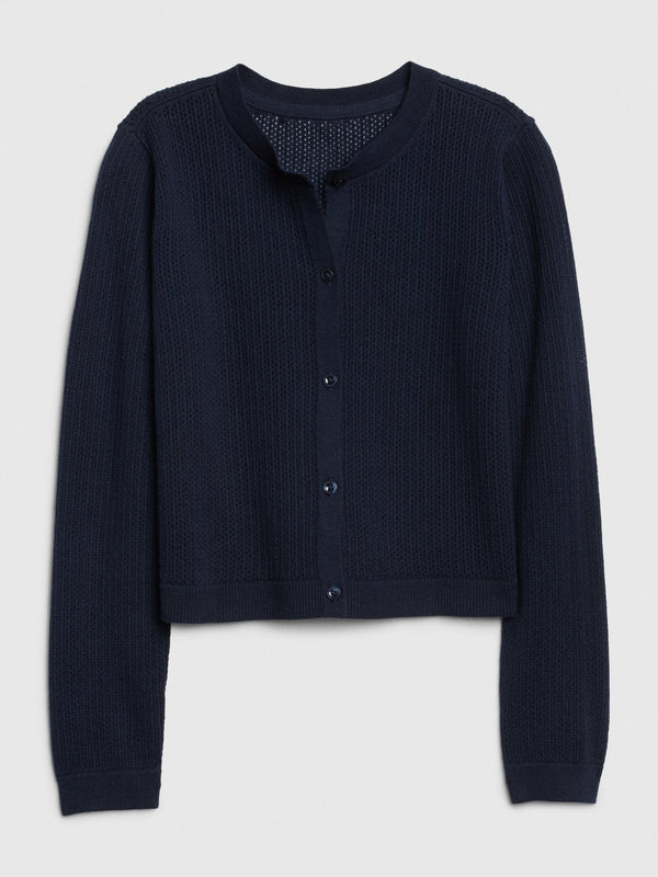 Sweater-Easter Cardi-NAVY UNIFORM