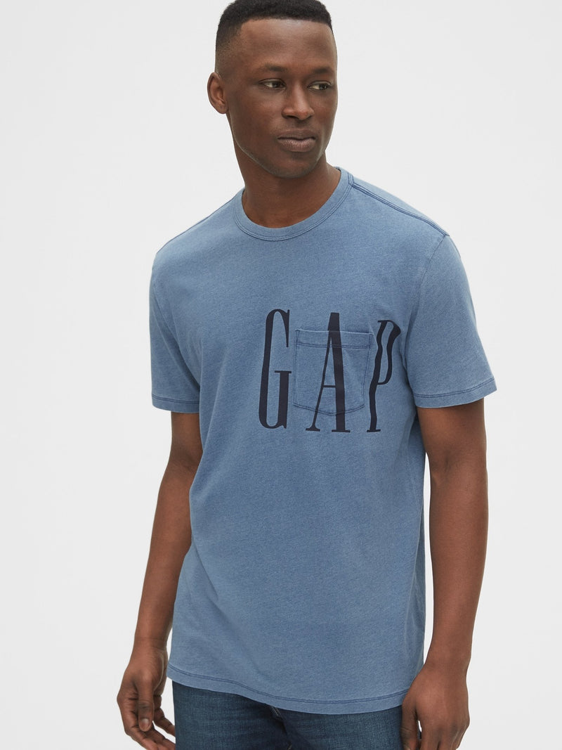 Camiseta Novelty- Logo Pkt T-LIGHT INDIGO