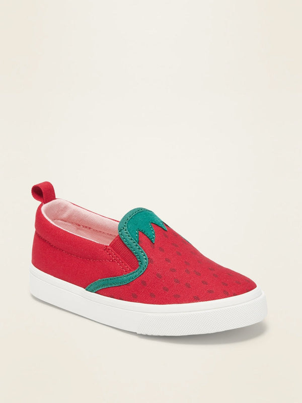 Zapato Novelty Slip On-Strawberry Shortcake