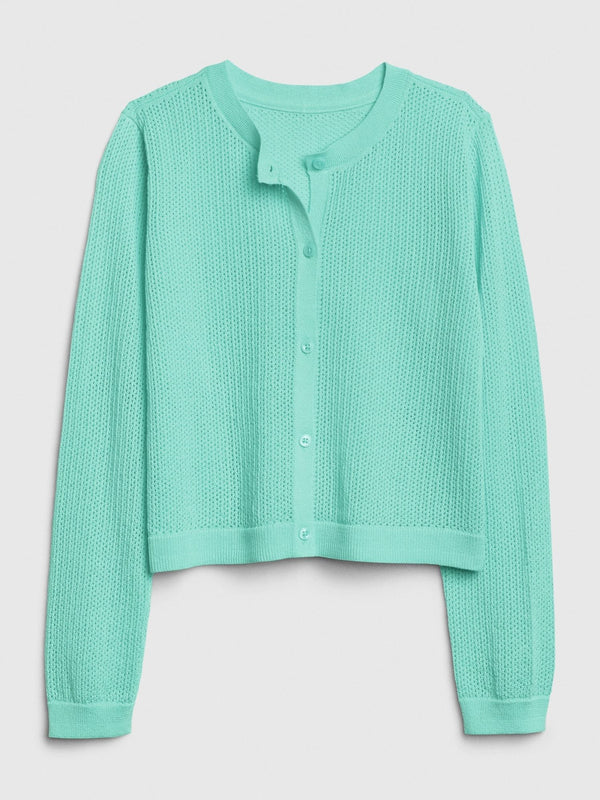 Sweater-Easter Cardi-SOUTHERN TURQUOISE