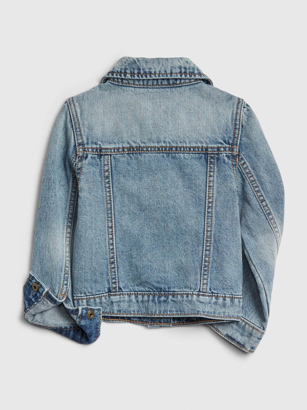 Jacket-Denim-STONE WASH LIGHT