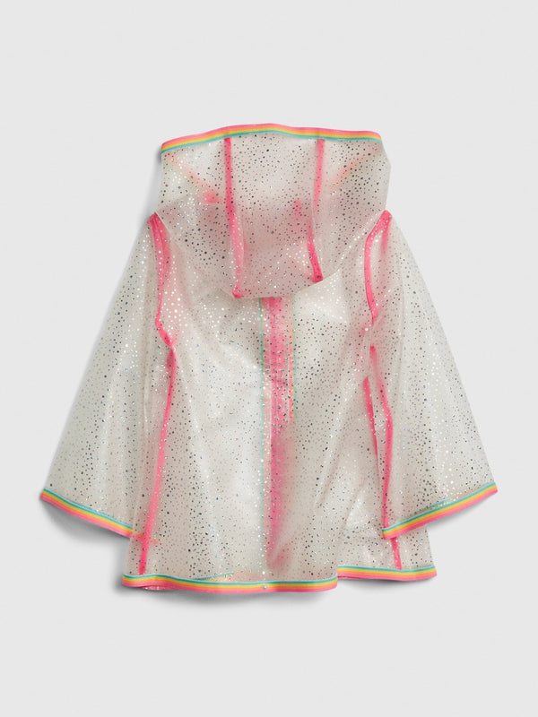 Jacket-Rain -TRANSPARENT YLW