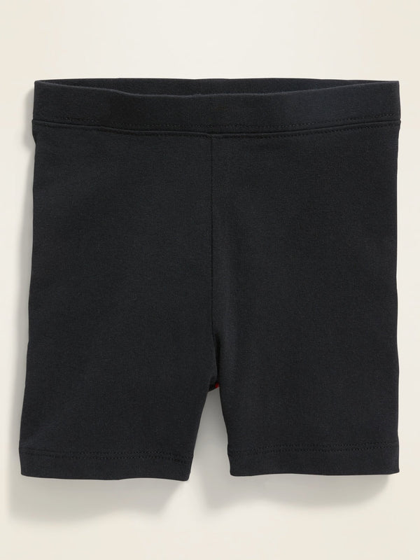 ON Jersey Biker Shorts For Toddler Girls - Negro Jack