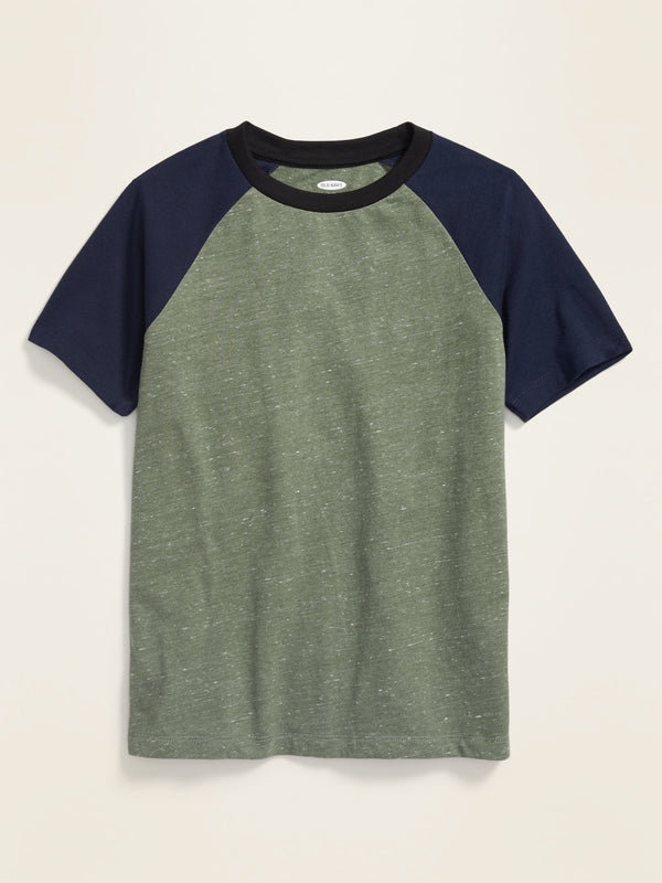 Camiseta Manga Corta Softest -I Think Olive