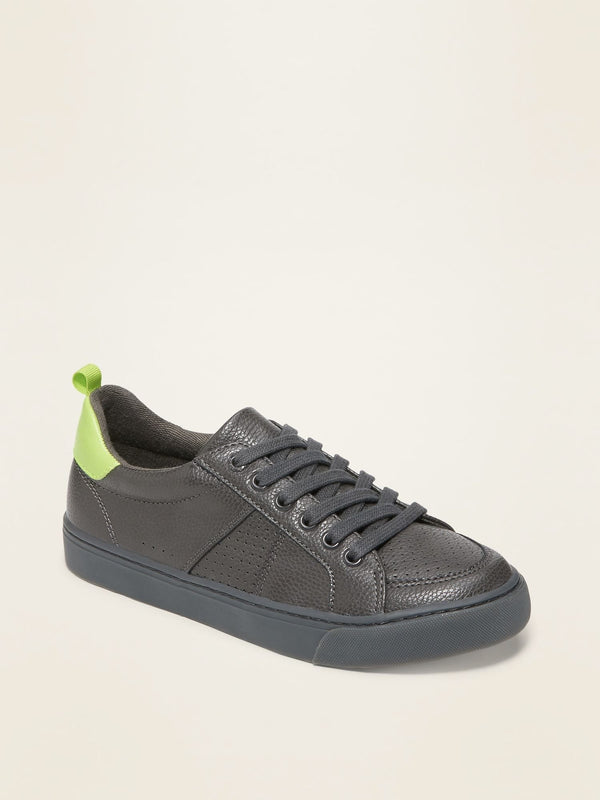 Zapato Court-Charcoal