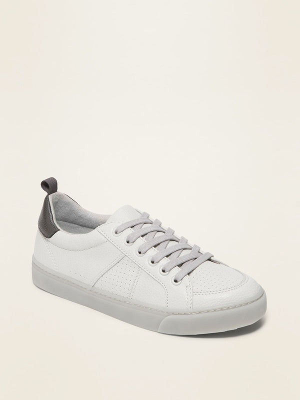 Zapato Court-Light Grey