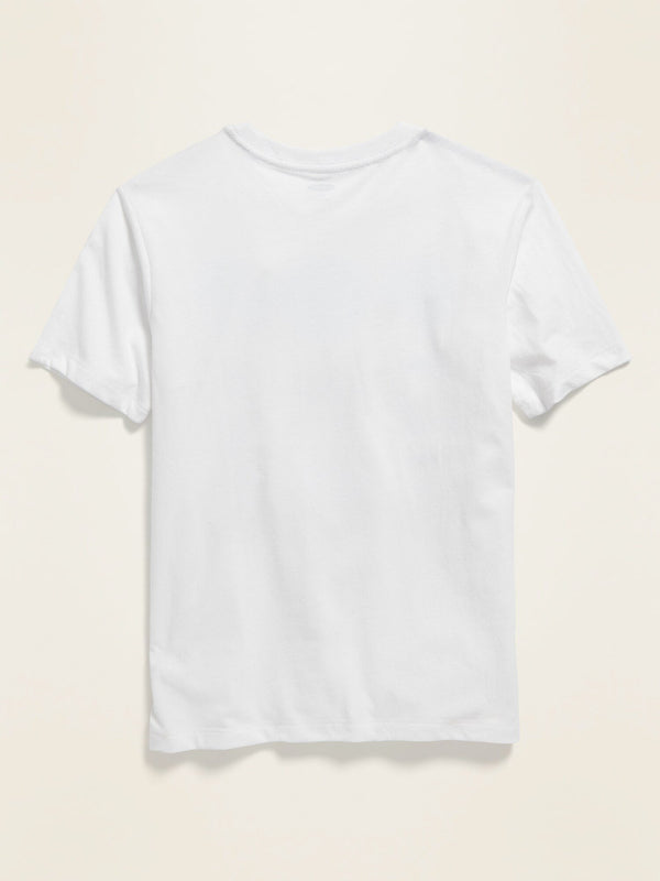 Camiseta Manga Corta Core Tee-Bright White 2