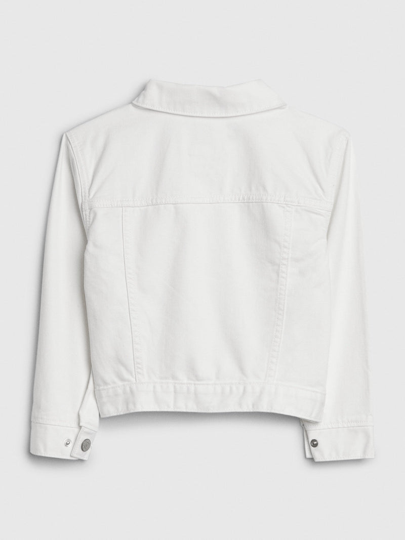 Jacket Denim-WHITE DENIM
