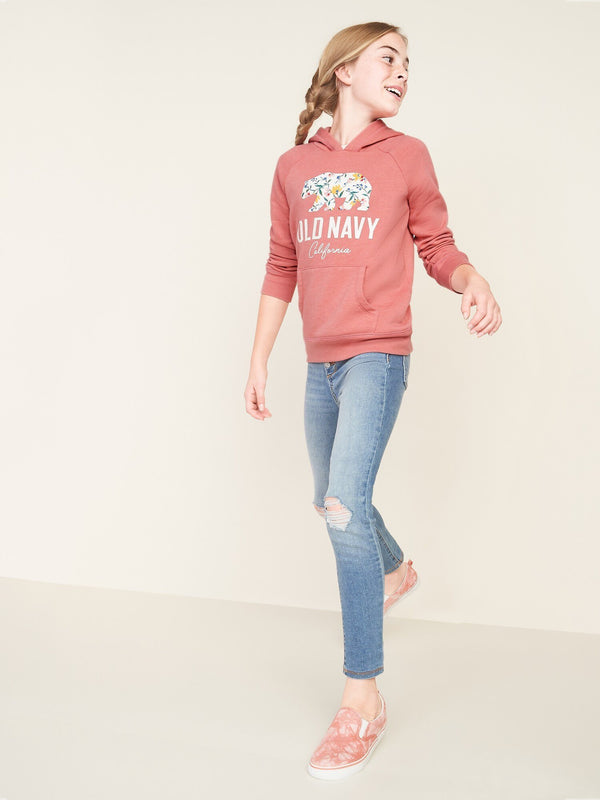 Sweater Hoodie-Cocoa Pink