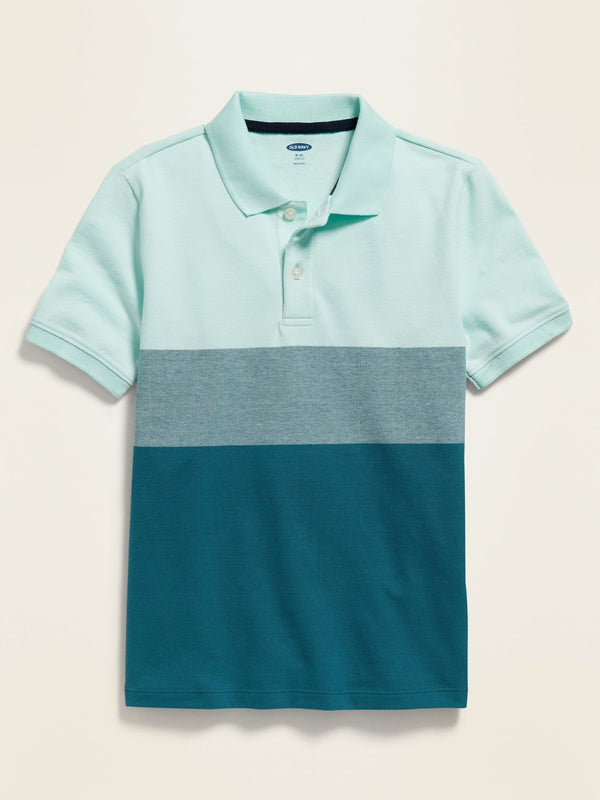 Camisa Polo Texture -Water Drop