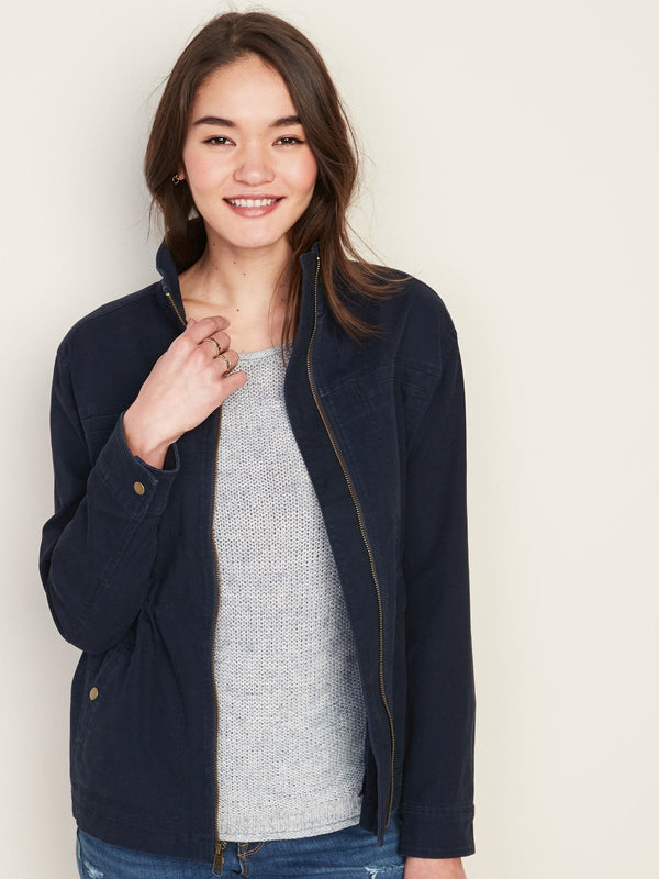 Jacket-Utility -In The Navy