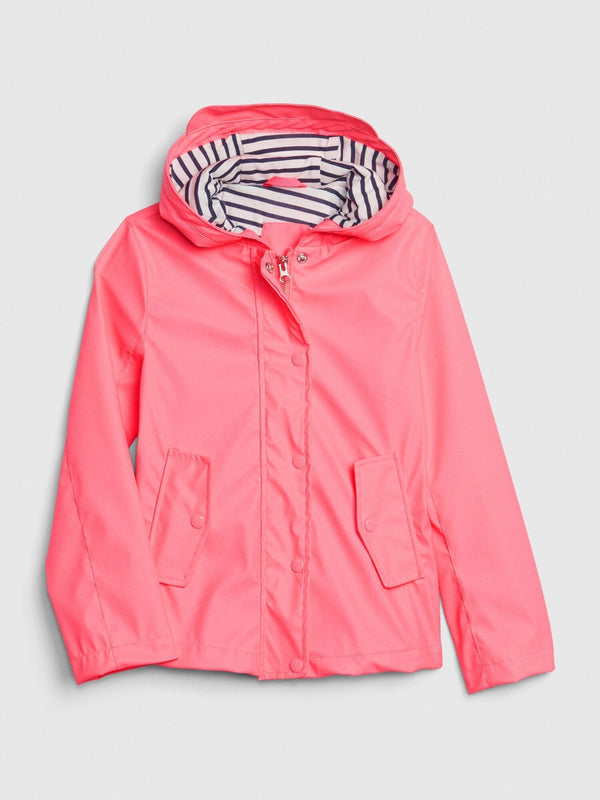 Jacket-Raincoat-PINK POP NEON