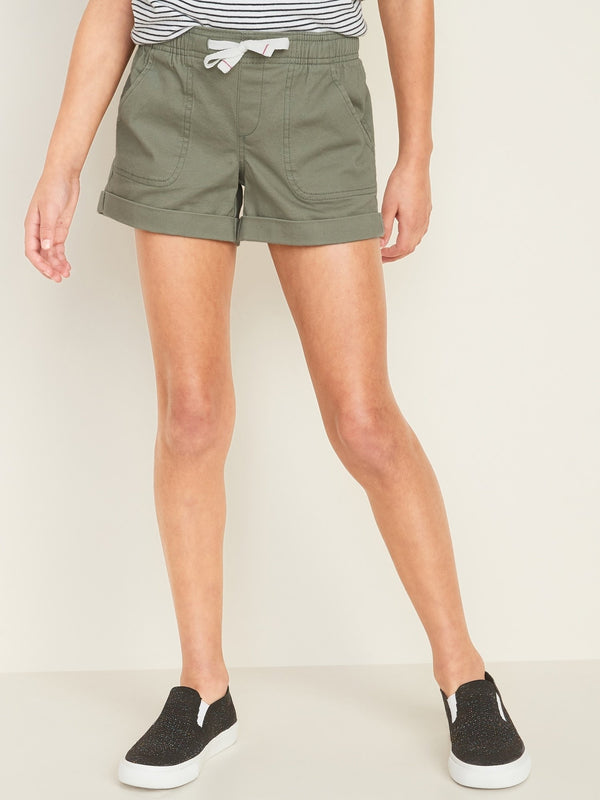 Shorts OLIVE THROUGH THIS