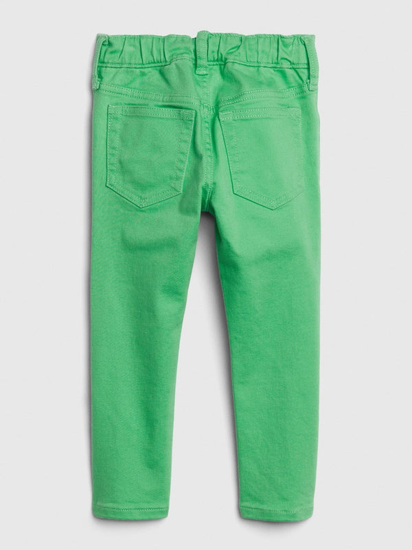 Pantalón Denim-Slim Taper-CARMEL GREEN
