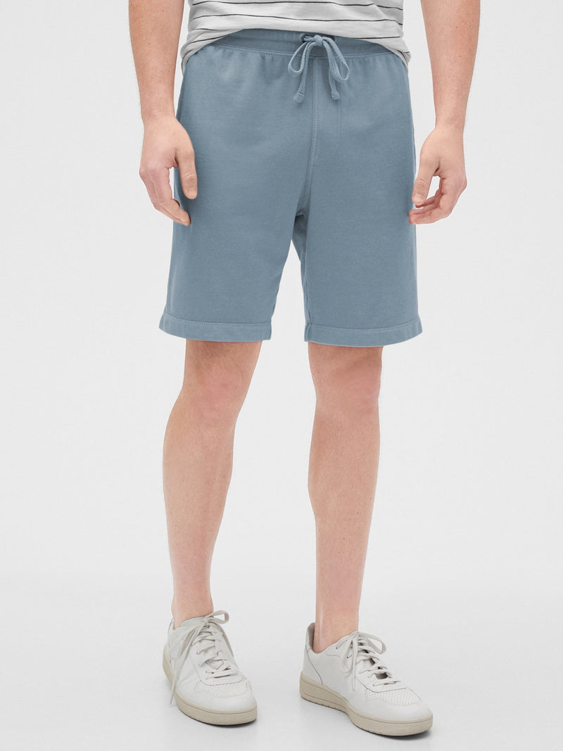 Fleece Shorts-PACIFIC WASH