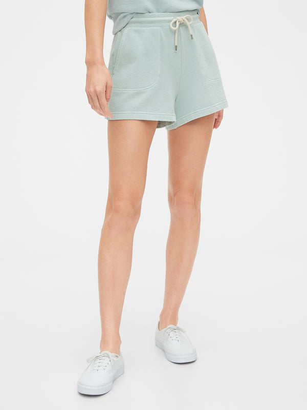 Gap French Terry Shorts - Mist Azul