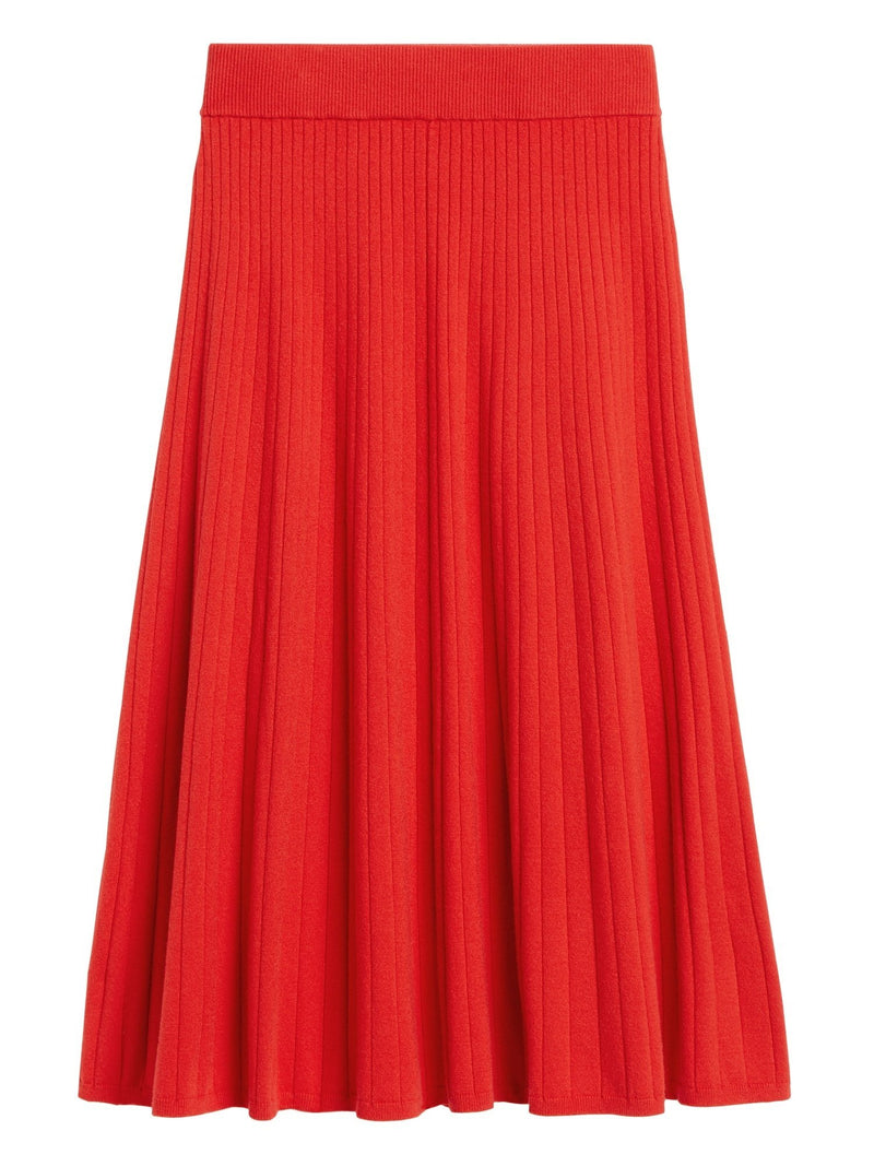 Enagua-Sweater Midi -Ultra Red