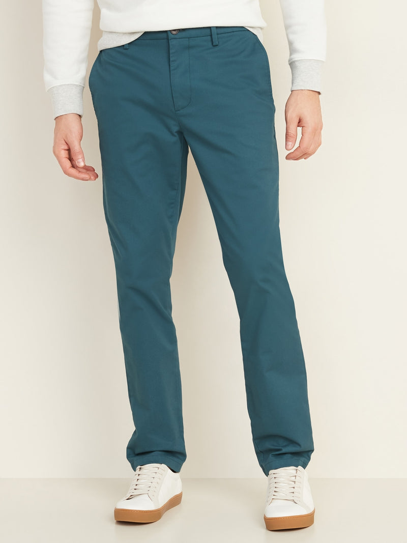 ON Pantalón All-New Slim Ultimate Built-In Flex Chinos for Men - Moonlight Tide