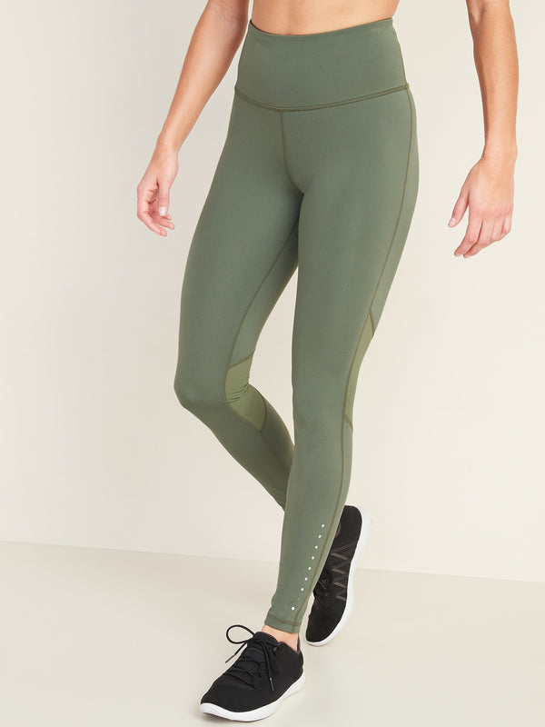 Pantalón Active -Elevate Run -Olive Through This (High Rise)