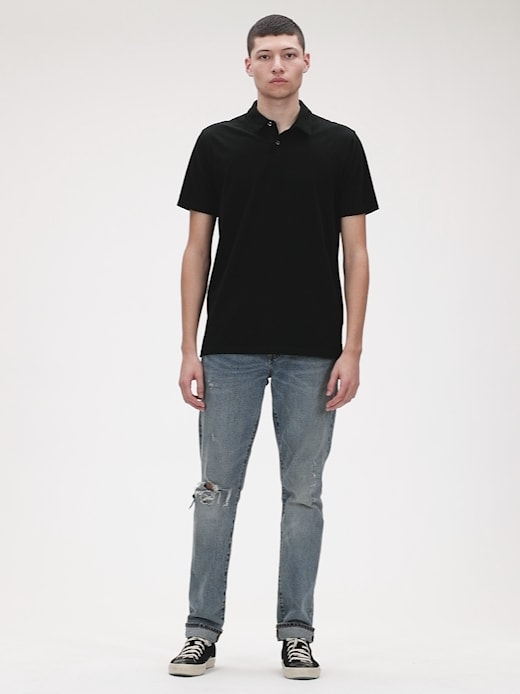 Camisa Polo True Black