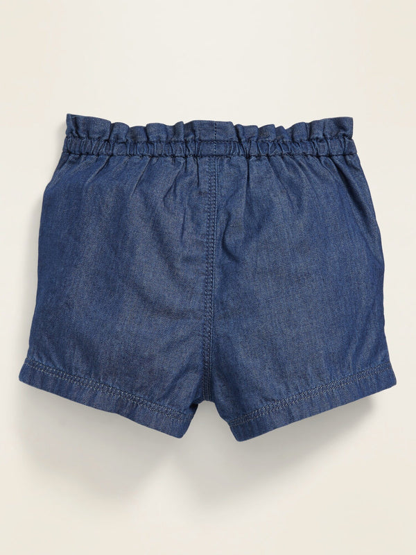 Short/Swim Woven -Dark Wash
