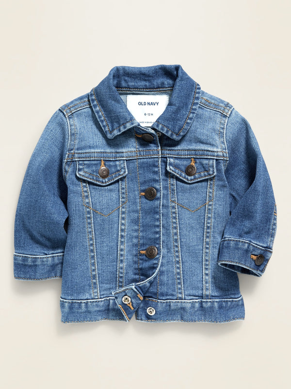 ON Medium-Wash Jean Jacket For Baby - Denim